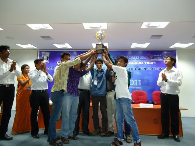 The team at the host college